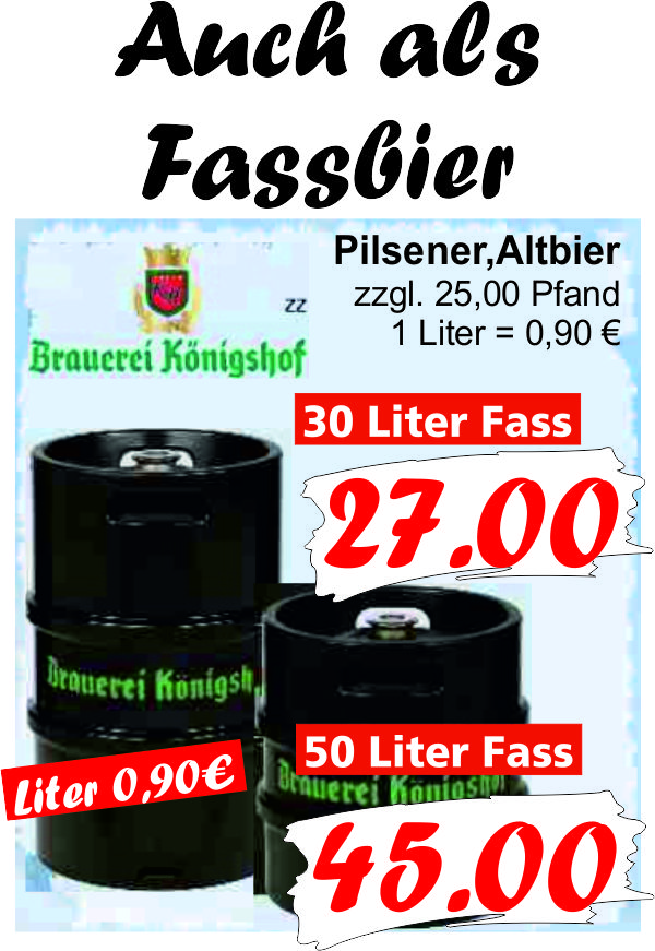 Königshof Fassbier